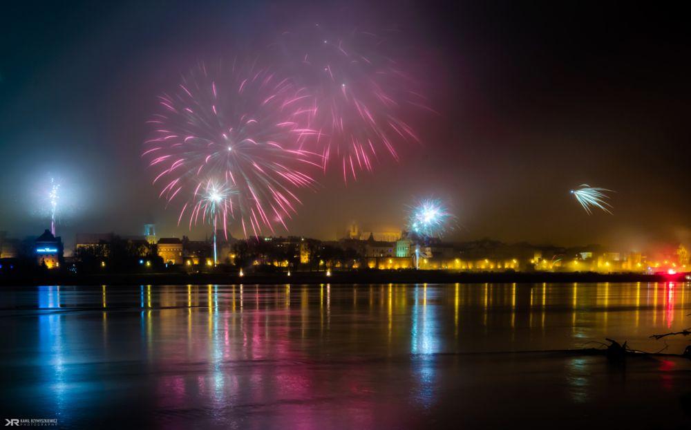 Photo in Cityscape #new #year #2015 #2016 #torun #poland