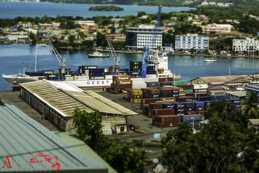 Photo in Travel #harbor #cityscape #city #shipping #ships #travel #country #caribbean #westindies #stlucia #places #sea