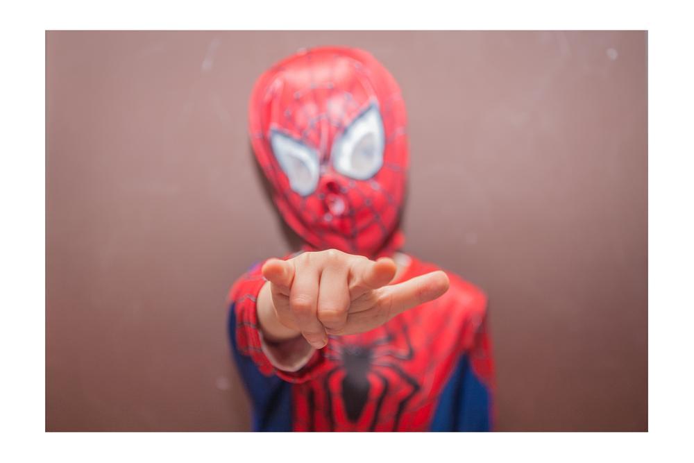 Photo in Portrait #carnival #spider man #children