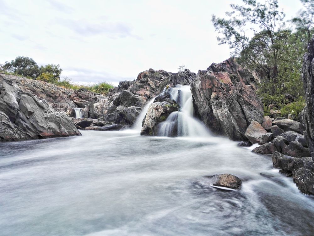 Photo in Random #nature landscape waterfall