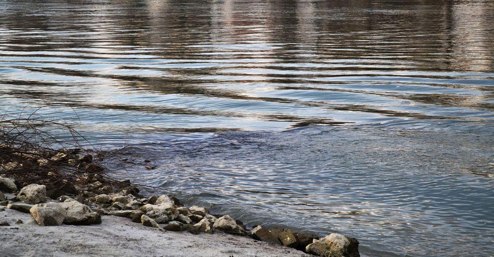 Photo in Landscape #waves #river #drava #osijek #croatia #landscape