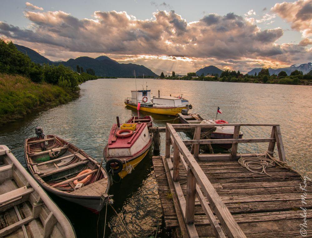 Photo in Landscape #botes #rìo #aysen #patagonia