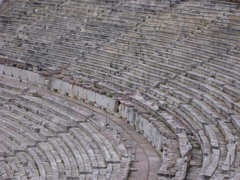 Photo in Abstract #greece #epidaurus #amphitheater