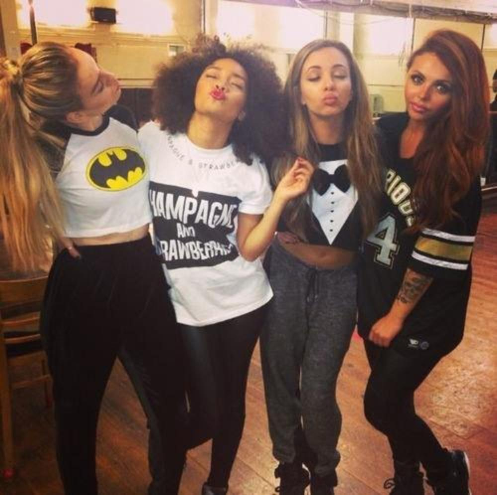 Photo in Celebrities #little mix #us #salute #tour #rehearsals