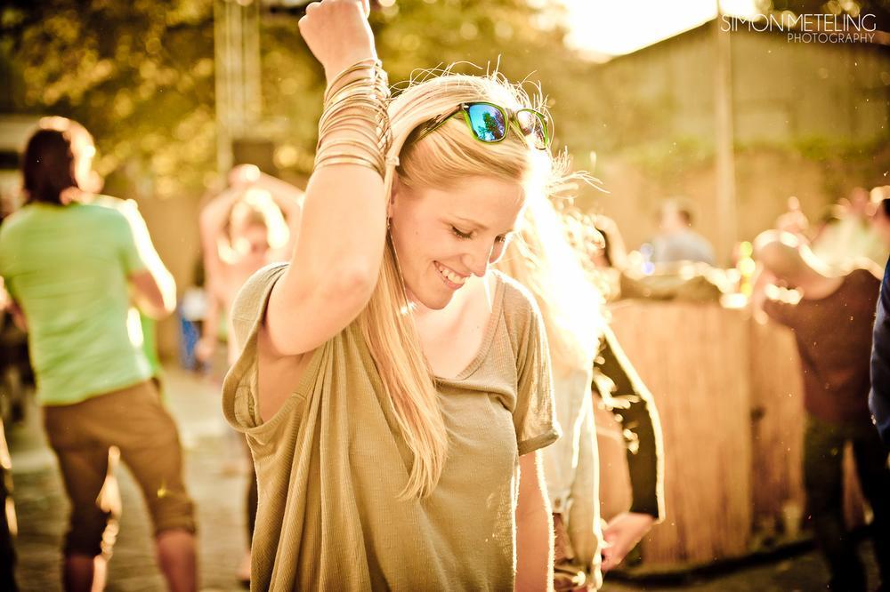 Photo in People #sunday #sun #music #party #techno #techhouse #blond #girl #sunglas