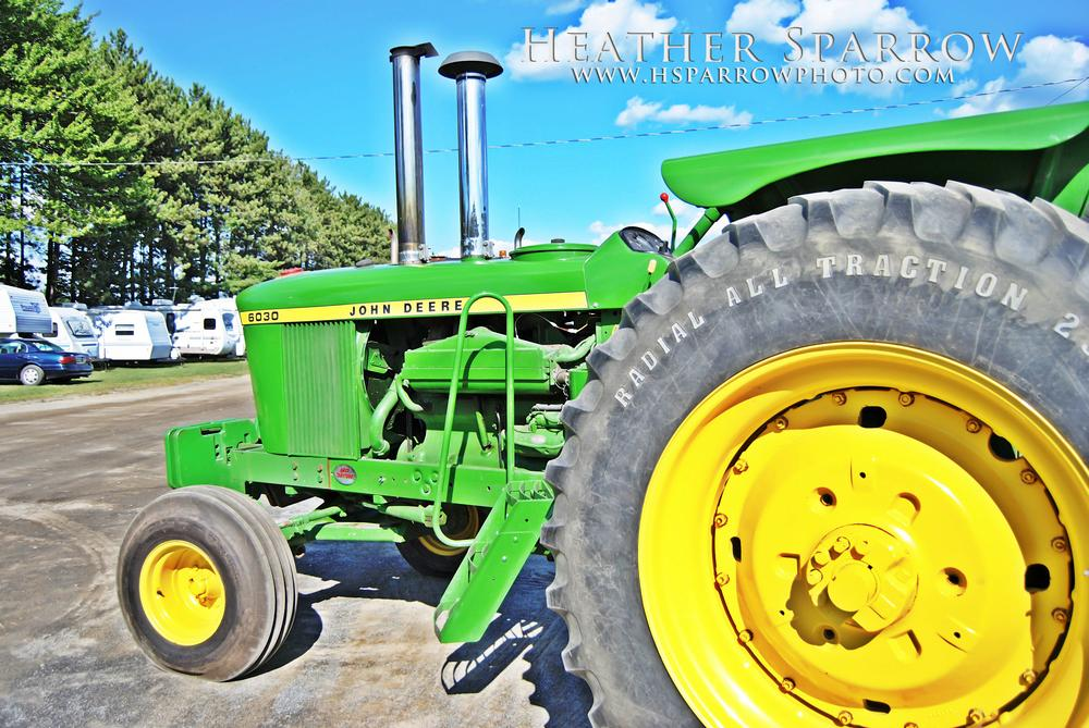 Photo in Random #john deere #tractor #green #green & yellow