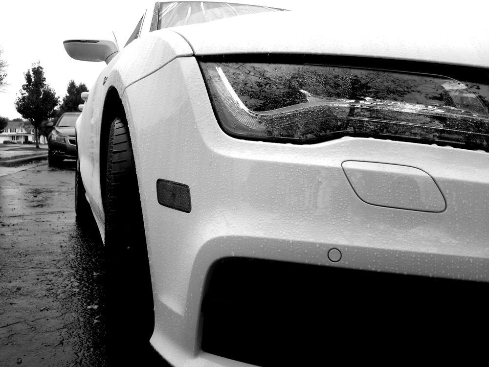 Photo in Vehicle #audi #a7 #rain