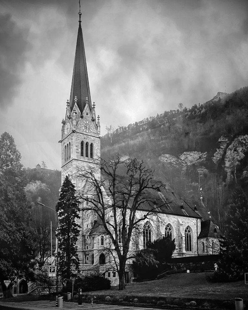 Photo in Architecture #vaduz #liechtenstein #cathedral