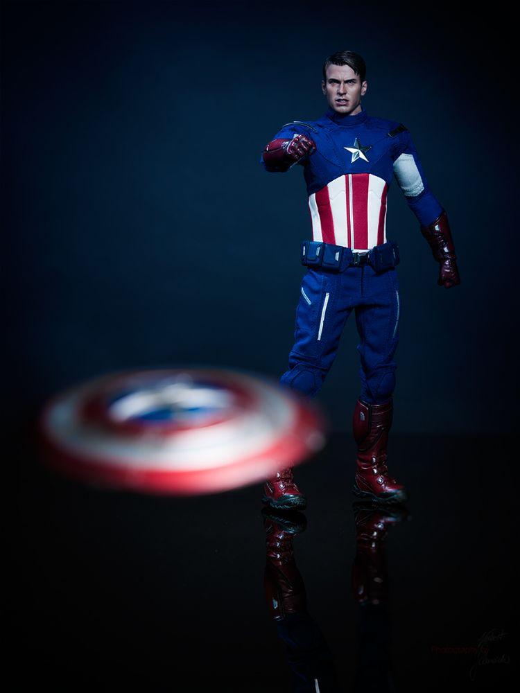 Photo in Still Life #marvel #captain america #shield #toy