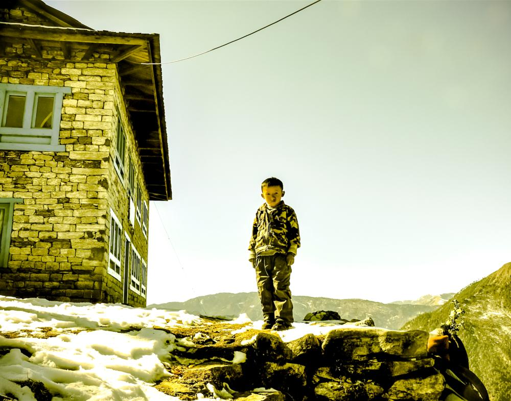 Photo in Journalism #universe #visions #nepal #kathmandu #children #magic #himalayas
