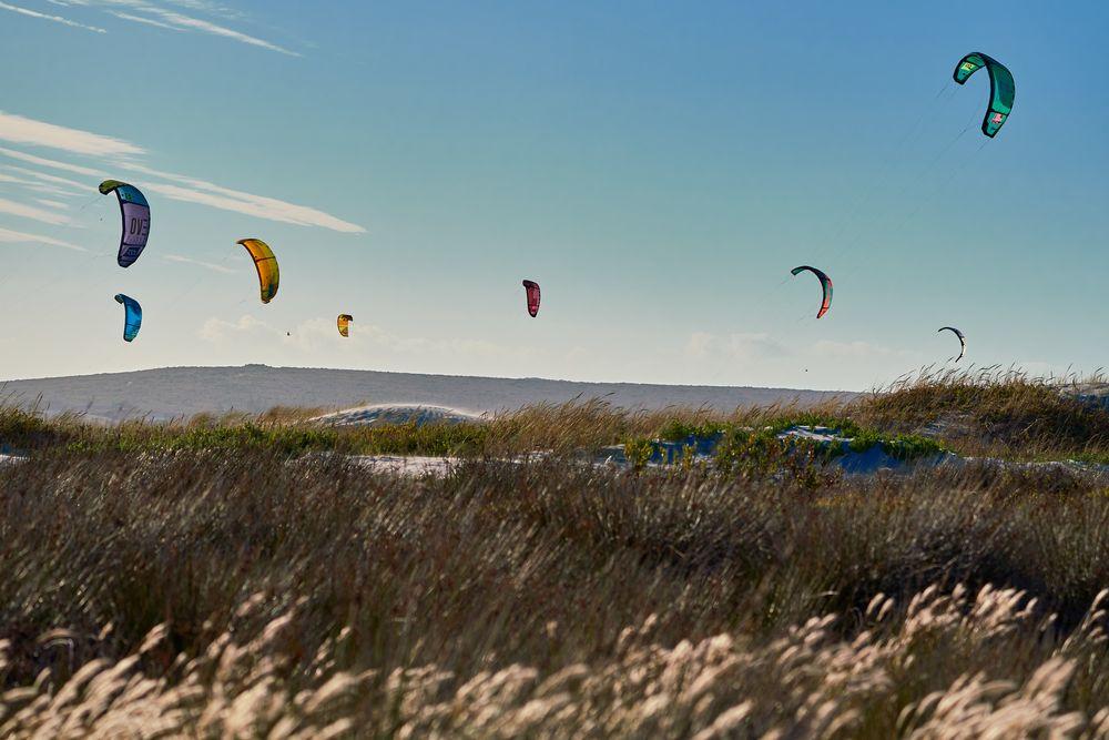Photo in Landscape #kiting #kite surfing #grass #kite