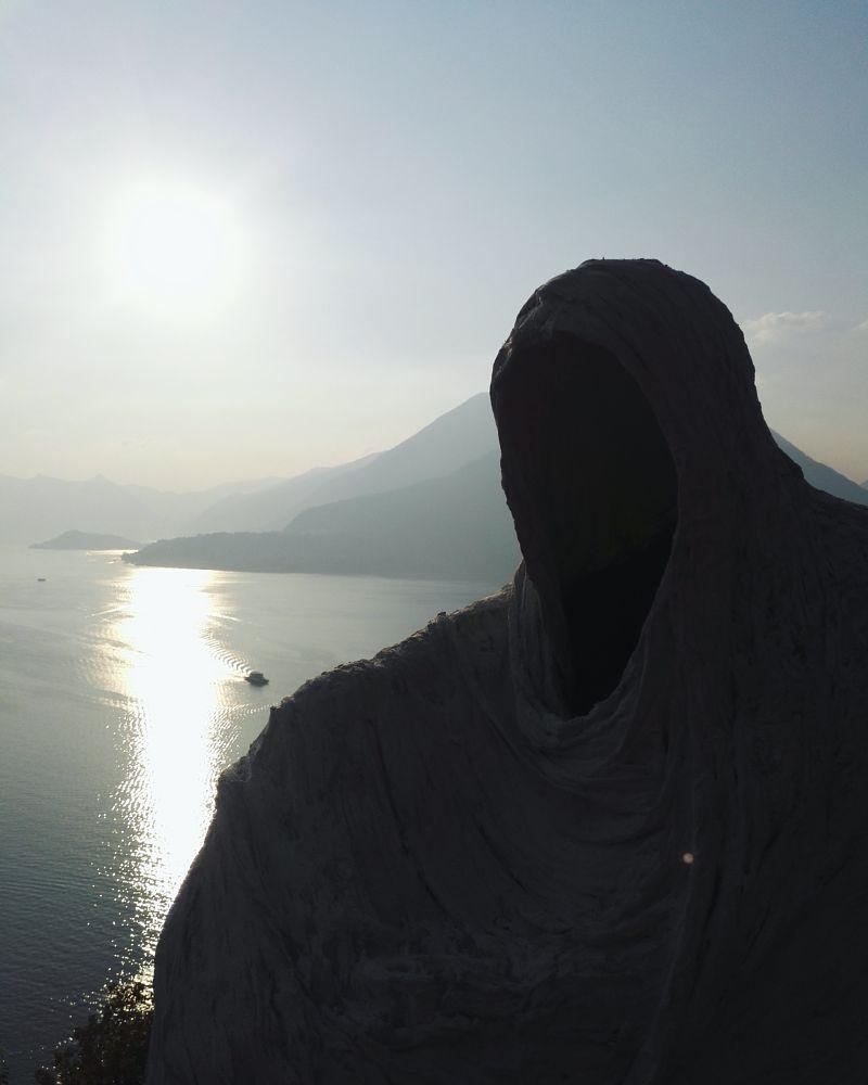 Photo in Landscape #vanishing #presence #vezio #lake #italy #castle #mountain #life