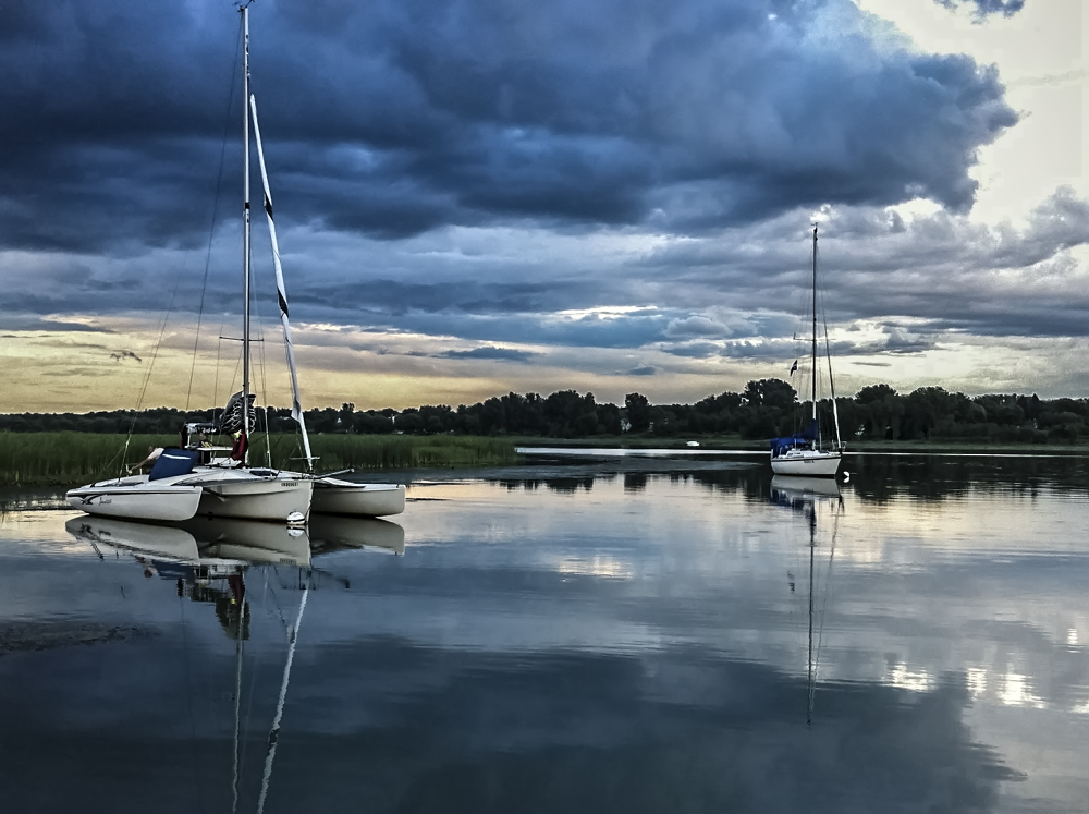 Photo in Landscape #boat #water #sailboat