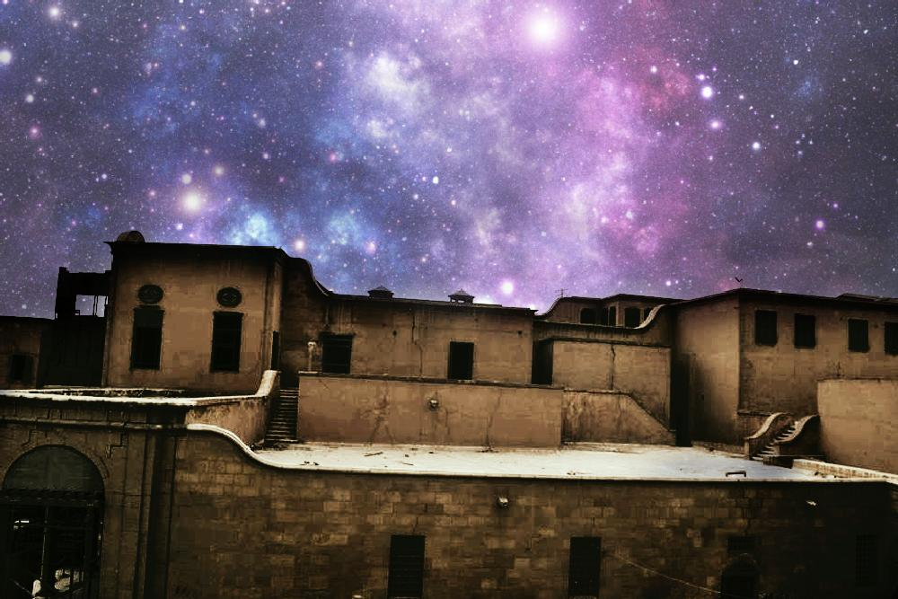 Photo in Astrophotography #zigzag photography #milky way #light #stars #old #house #canon #d600 #lens #55_200 vr #www.facebook.com/zigzag0012