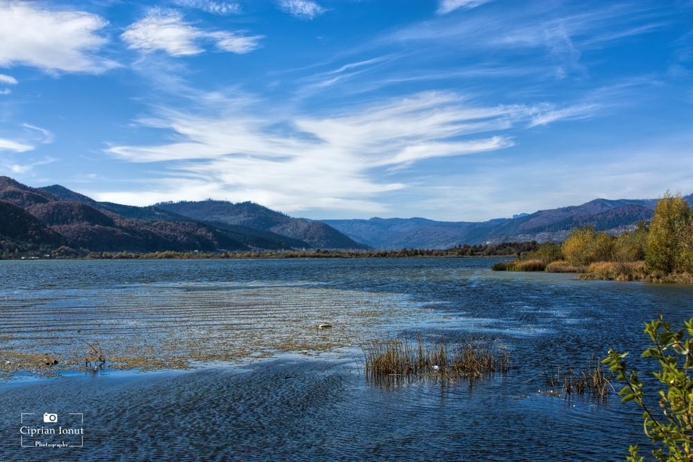 Photo in Landscape #nature #lake #forest #sky #clouds #romania #landscape