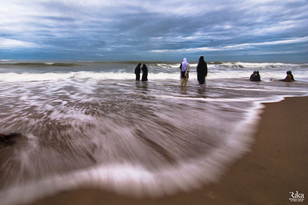 Photo in Random #slow shutter speed #nd filter #nd 1000 #nikon d7100 #gopalpur #odisha #india #sea beach #bay of bengal #tokina