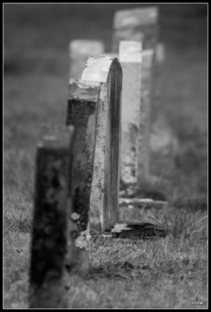 Photo in Black and White #black and white #grave stone