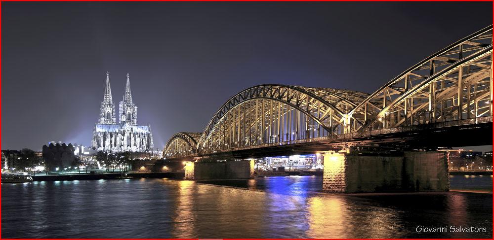 Photo in Random #bridge #germany #dom #cologne