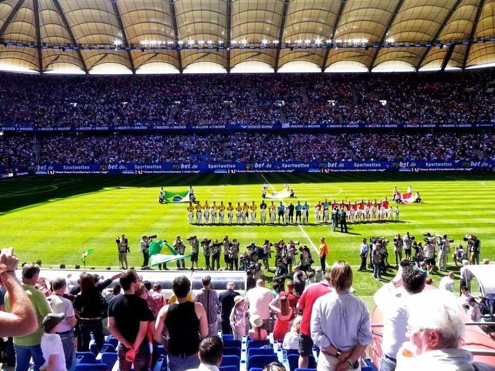 Photo in Sports #hamburg #photography #football #photographer #stadium #event #sports #soccer #reza rezvani photography #alireza rezvani #fotograf #fotografie #fussball #stadion #may 2012