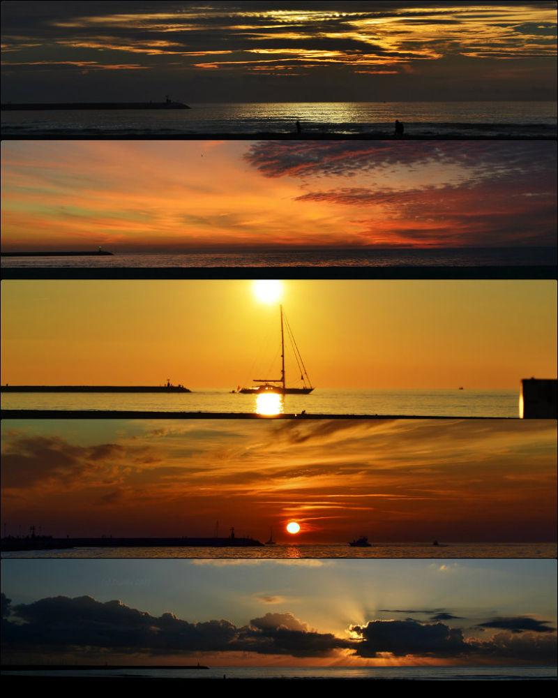 Photo in Landscape #beach #sky #colors #sea #nature #landscape #sunset #sun #orange #artistic #red #yellow #freedom #viareggio