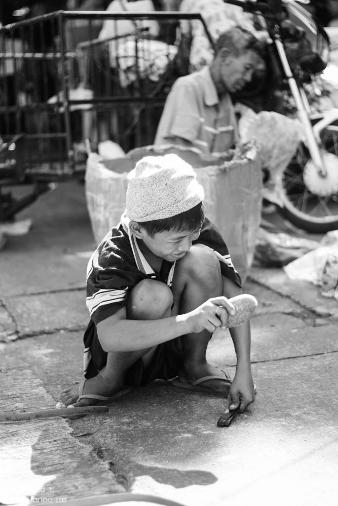 Photo in Random #kid young working family