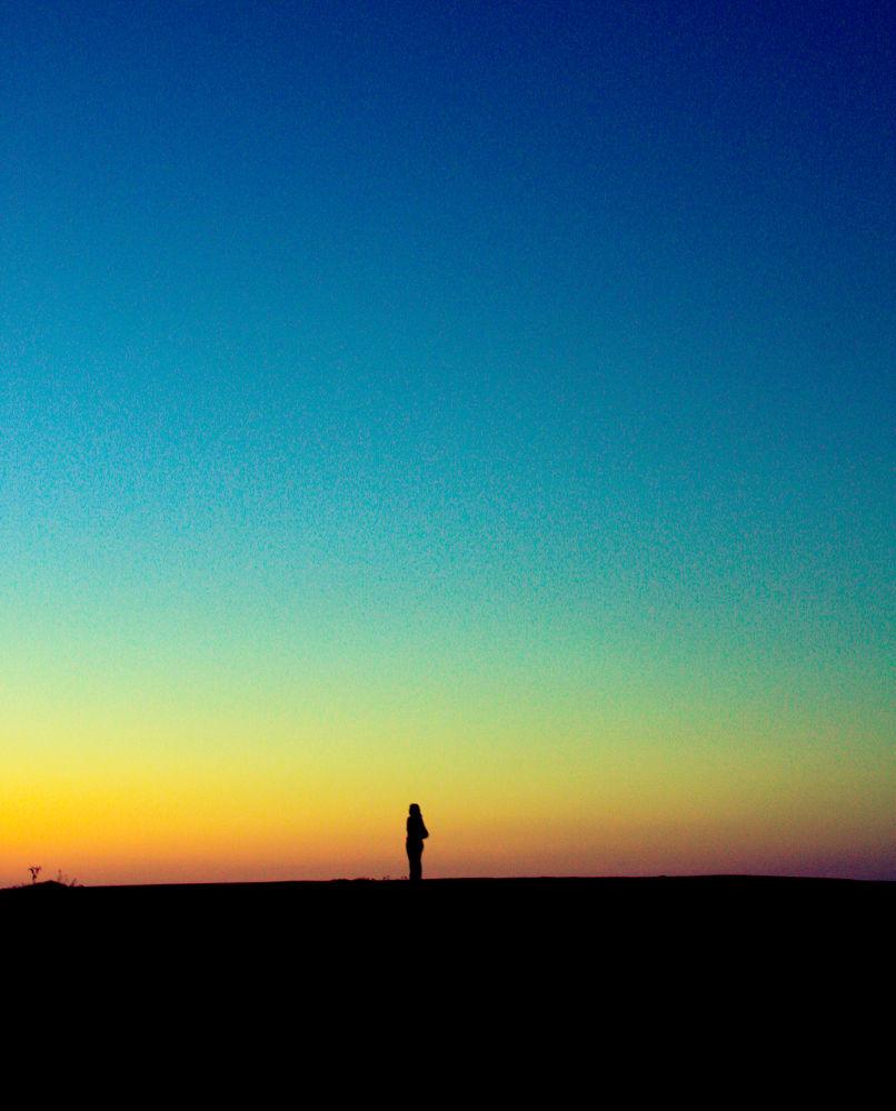 Photo in Random #harbour #sunset #evening #silhouette #female #crete #sisi