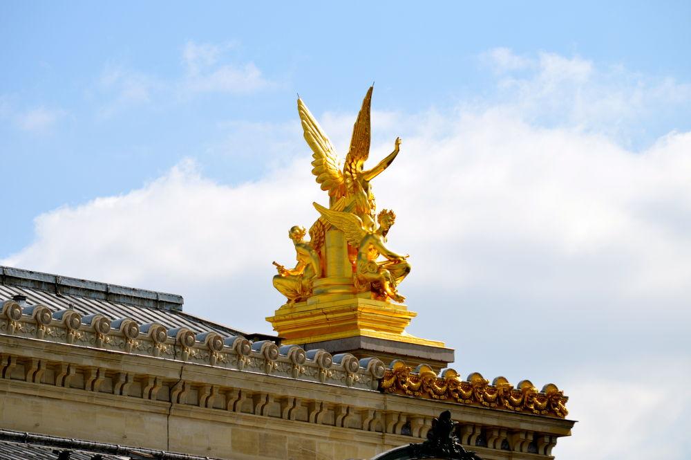 Photo in Random #paris #france #nikon #opera garnier