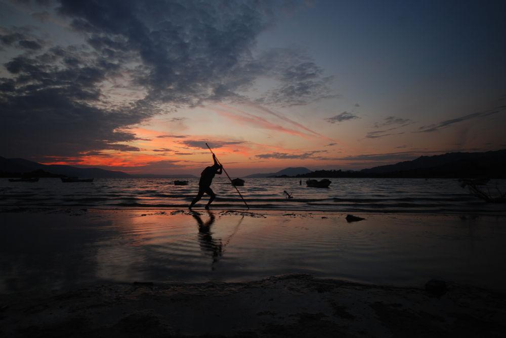 Photo in Random #bafa gölü #gün batımı