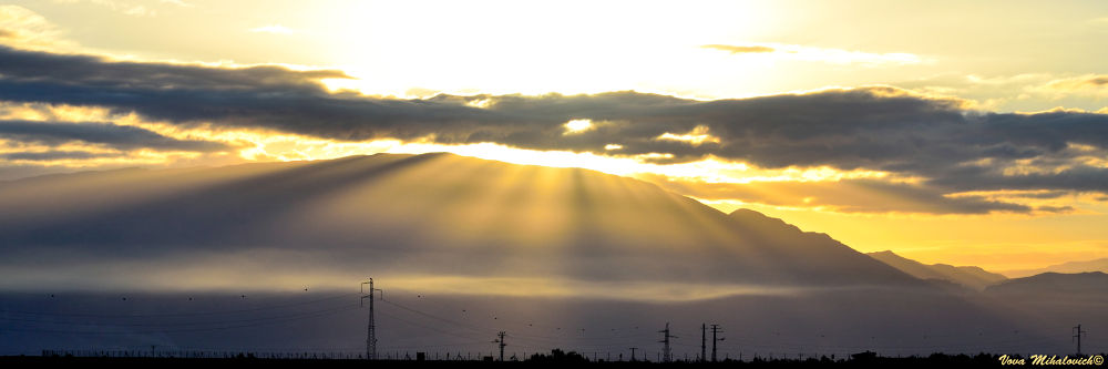Photo in Landscape #israel #nikon #d7000 #mountain #lake #sky #landscape #sun #orange #cloud #yellow #jordan #dead sea #the revelation