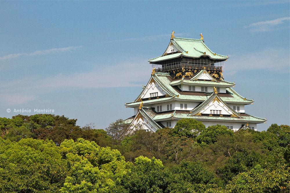 Photo in Architecture #castle #osaka #japan #castelo #japao