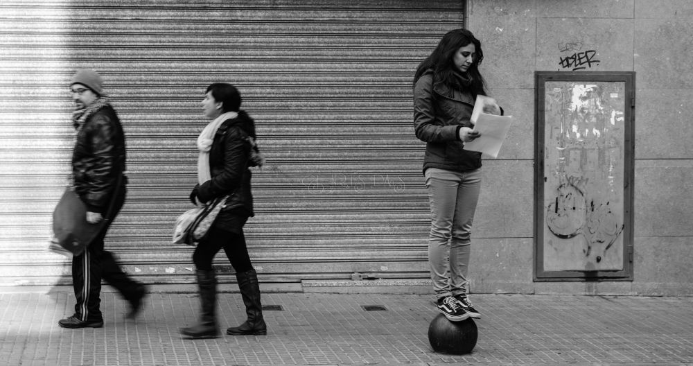 Photo in Black and White #street #people #black and white #portraits