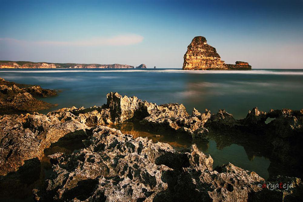 Photo in Landscape #landscape #seascape #west nusa tenggara #buaq beach #gerupuk #central lombok