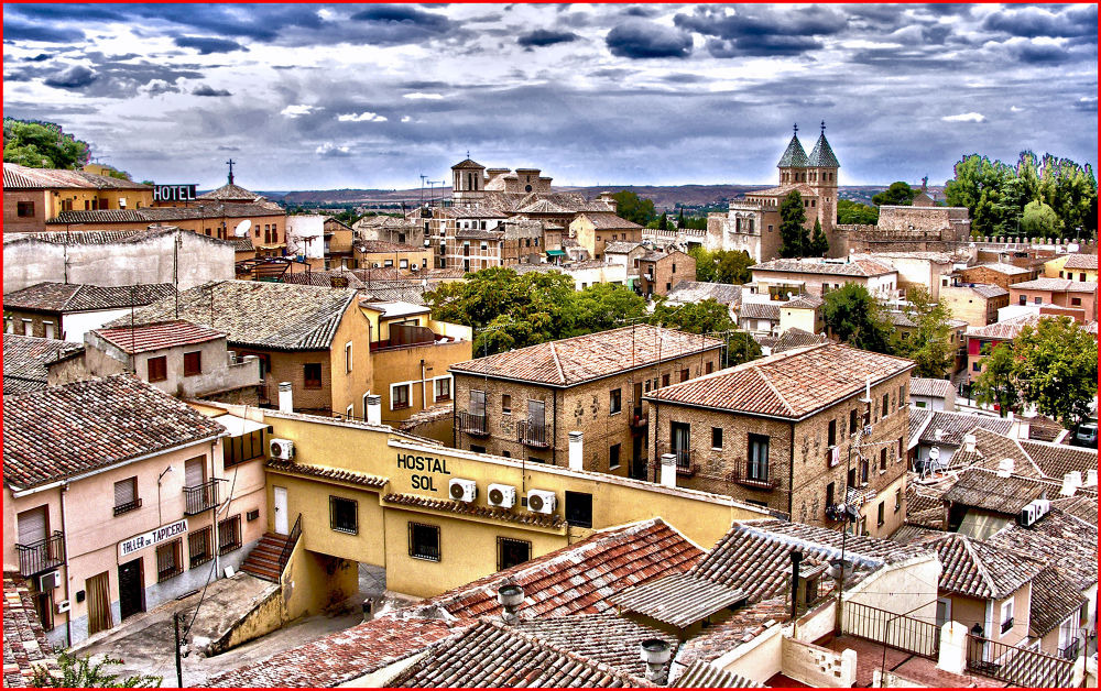 Photo in Random #spain #rooftops #toledo