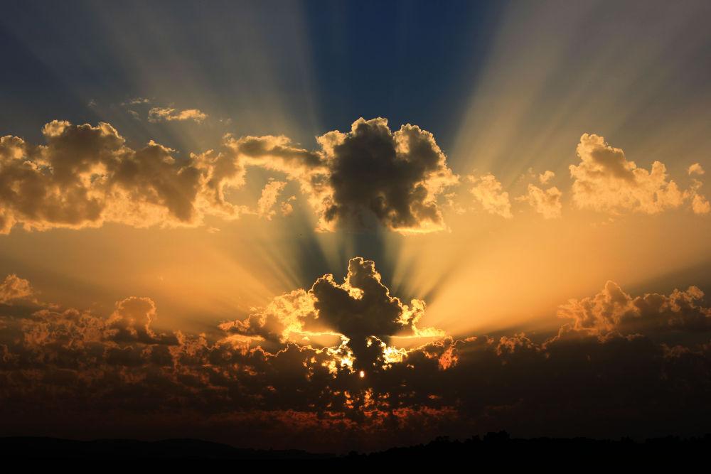 Photo in Random #sky #sunset #sun