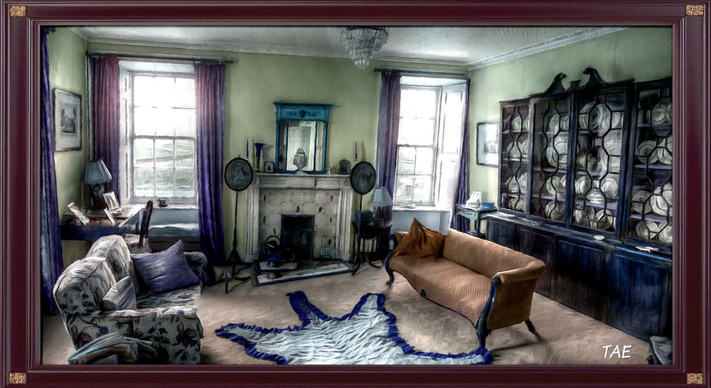Photo in Random #art #painting #house #room #living #digital #scotland #furniture #fine #canvas #oi #orkneys #scara #brae #skaill