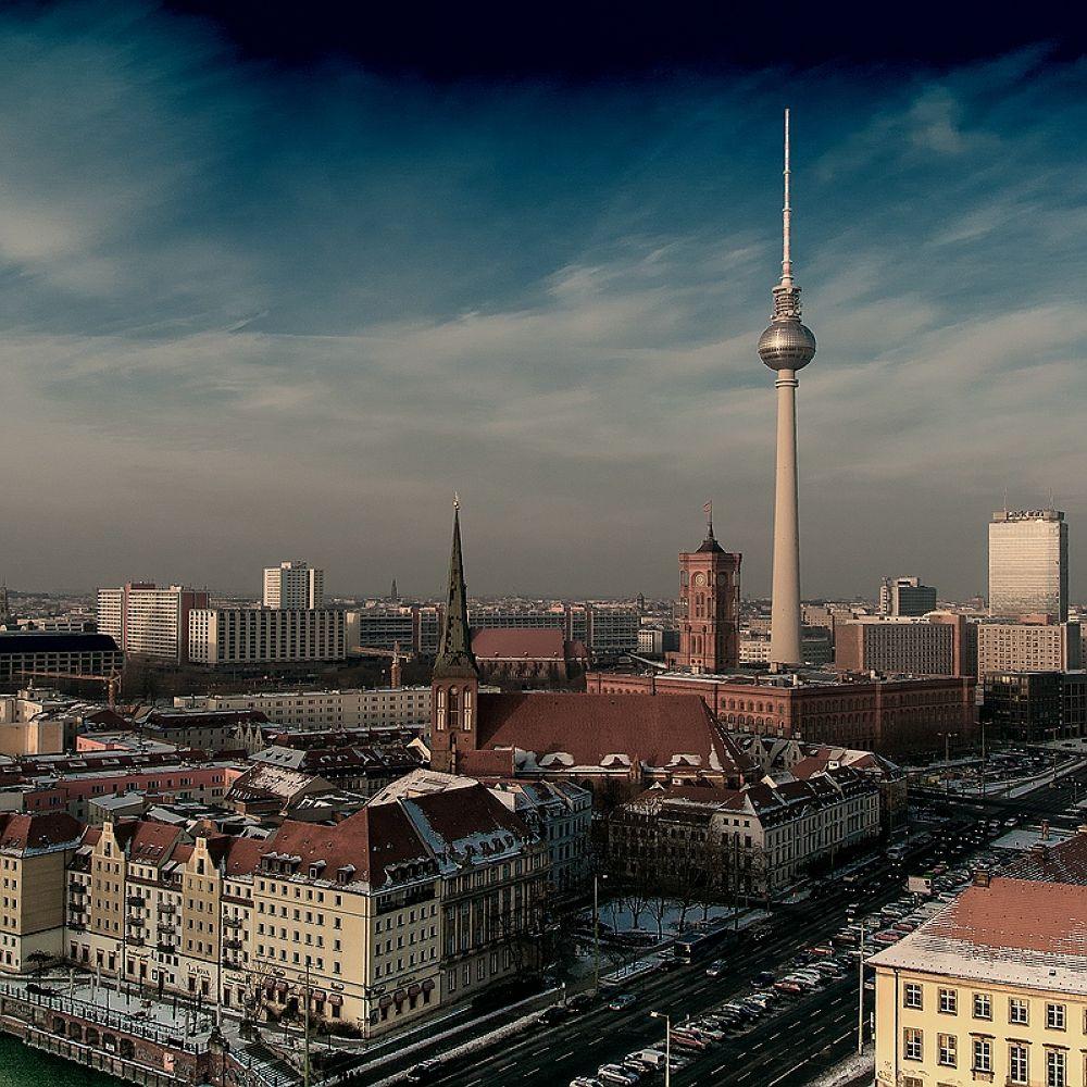 Photo in Architecture #berlin #fernsehturm #alexanderplatz #architektur