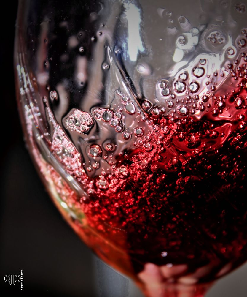Photo in Random #glass #red #wine #bubbles #taste #mcpherson #kansas #tyler elbert #picture perfect photography #wine glass #swirls #red wine