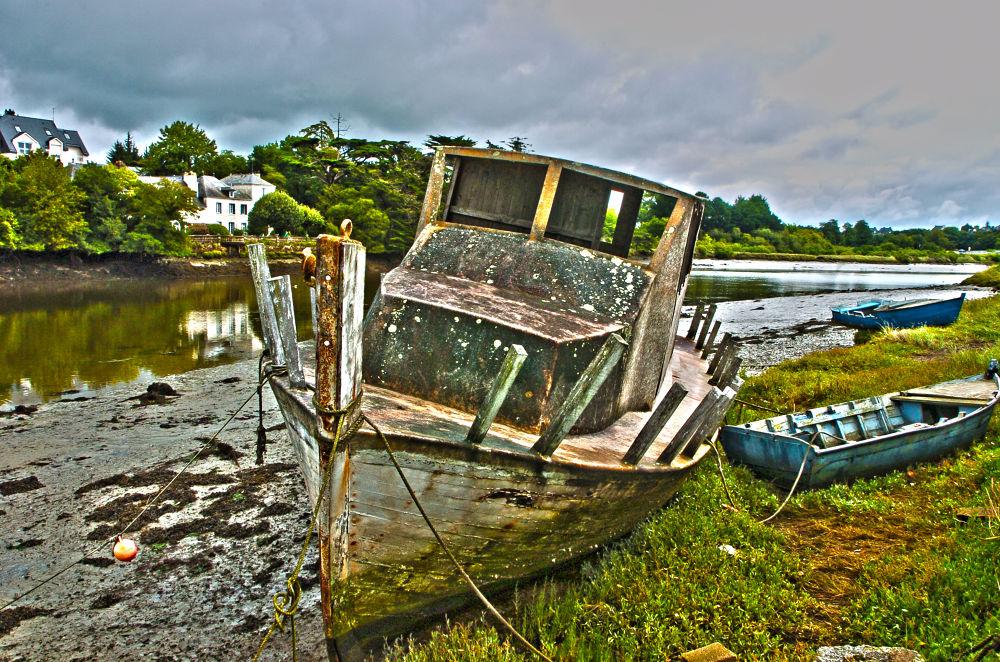 Photo in Landscape #bateaux #h d r