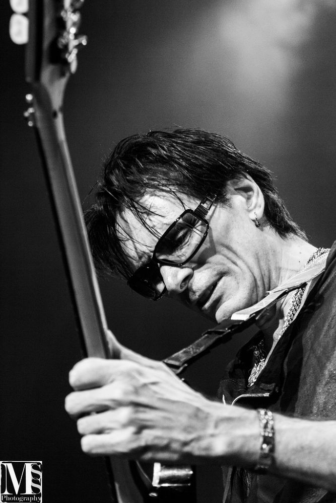 Photo in Black and White #portrait #black and white #concert #mss-photography #steve vai