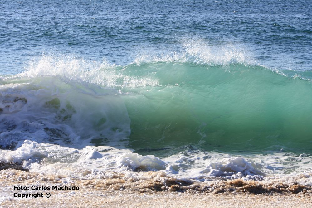 Photo in Random #onda (wave) praia do meco - me