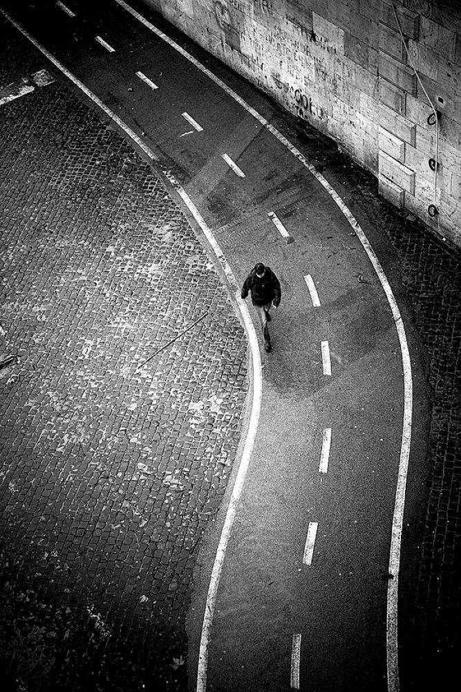 Photo in Black and White #rome #black and white