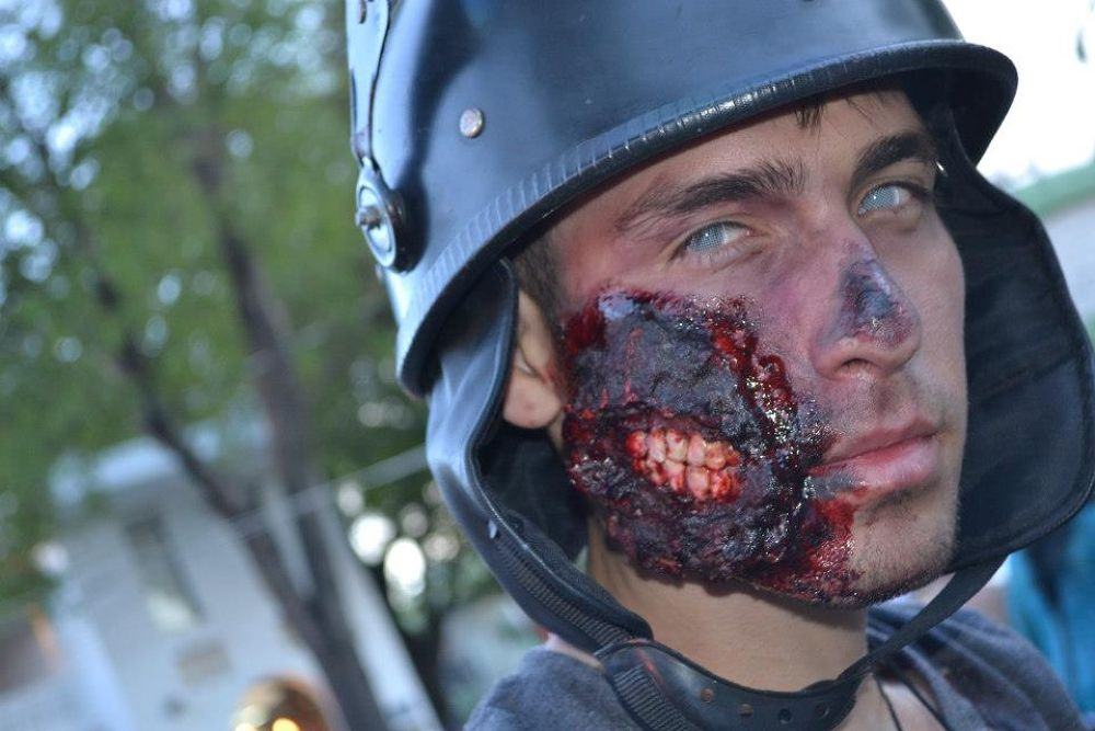 Photo in Random #mexico #zombie #guadalajara