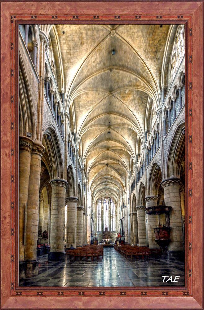 Photo in Random #art #oil #painting #inside #netherlands #belgium #cathedral #fine #canvas #tongeren