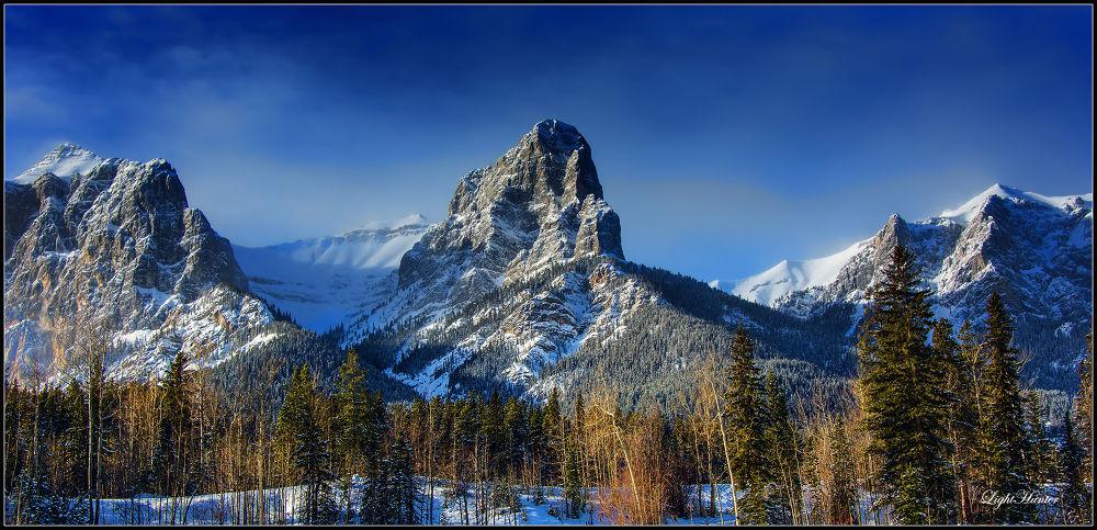Photo in Nature #winter #nature #canmore #calgary alberta #rockies #rocky mountains #landskape