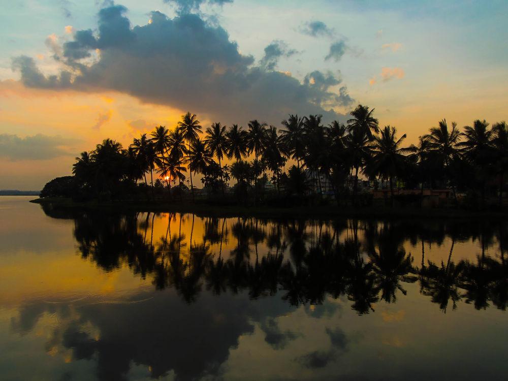 Photo in Random #india #morning #dawn #bangalore #sandeep