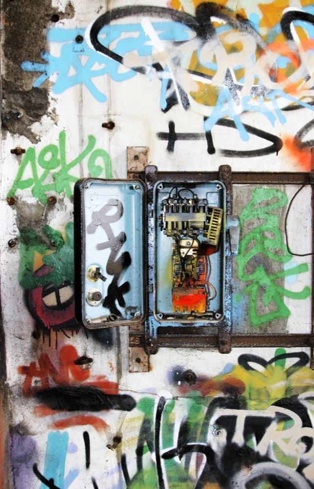 Photo in Urban #underground #electricity #urban #urbex