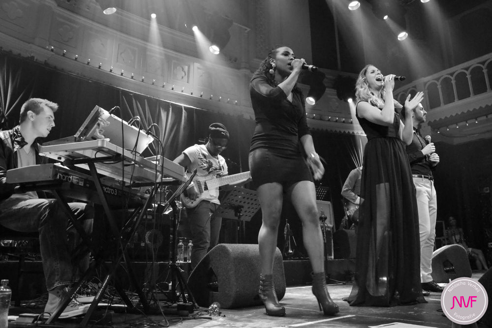 Photo in Black and White #amsterdam #girl #happy #love #show #artist #boy #holland #gig #black and white #group #performing #adlicious #holland got soul #paradiso #x factor #the best group in holland