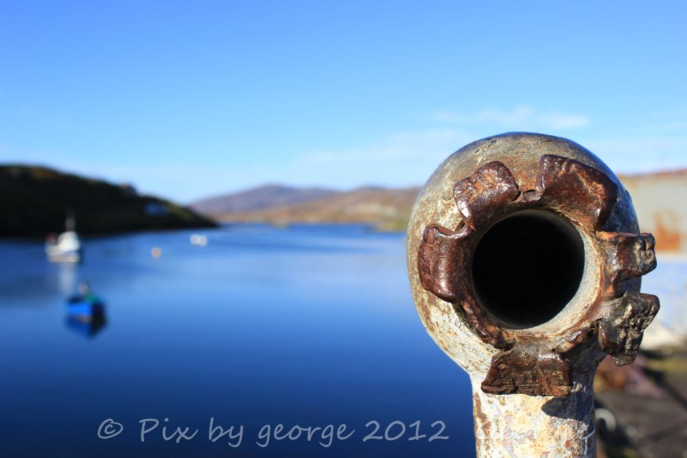 Photo in Random #sea stornoway metal harbour is