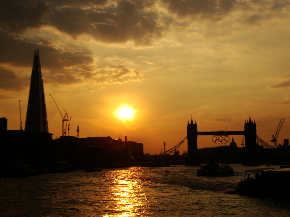 Photo in Random #london #river #bridge #sunset #uk #thames #england #tower bridge #united kingdom #the shard