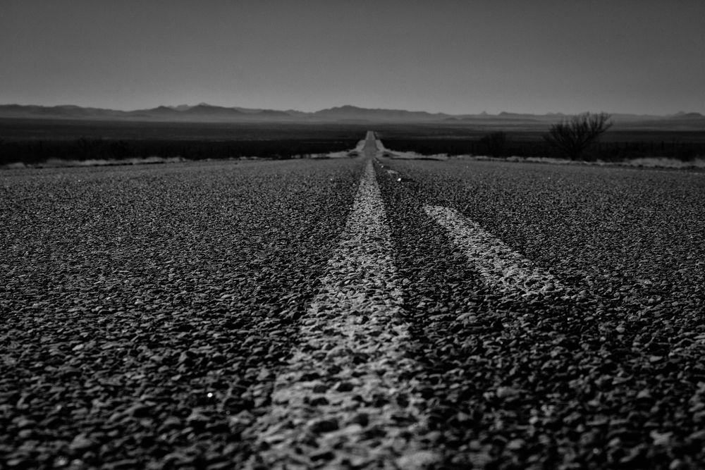 Photo in Black and White #landscape #b&w #black and white #grain